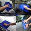 Blue Absorbent Wash Cloth Car Auto Care Microfiber Cleaning Towels.