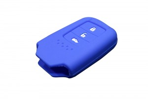 3 Button Smart Key Silicone Blue Cover For New Honda City (2014+)