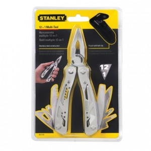 12in1 Stanley Army Pocket Plier Knife Wire Cutter Screw Driver Tool Repair