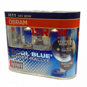 OSRAM H11 Cool Blue Hyper Rallye 12V 80W - Pair Of 2