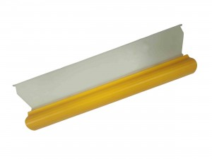Car Yellow Squeegee Glass Window Dryer Silicone Blade Cleaning Water Wiper  (Big)