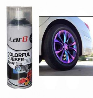CAR8 CHAMELEON PURPLE Plasti Paint 400ml Spray Can Rubber coating / Removable Paint