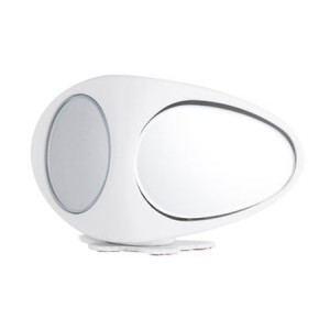 2pcs 3R Car Double Side Blind Spot Rearview Mirror HD 360° Wide Angle Reversing Auxiliary Mirror - White(Right & Left)