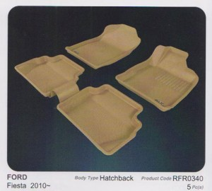 3D Mat - For FORD FIESTA- Maxpider Kagu