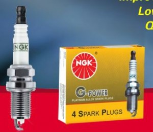 NGK Spark Plugs G-Power/Platinum (Better)(DCPR7EGP)