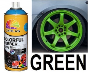 Green Plasti Paint 400ml Spray Can Rubber coating / Removable Paint