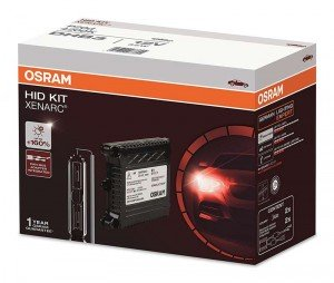 Osram H4 6000K 35W 12V Xenon Eeco HID Conversion Headlight Bulb Kit