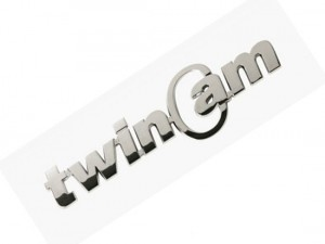 3D TWIN CAM LOGO CHROME BADGE ABS EMBLEM CAR AUTO JEEP 4X4