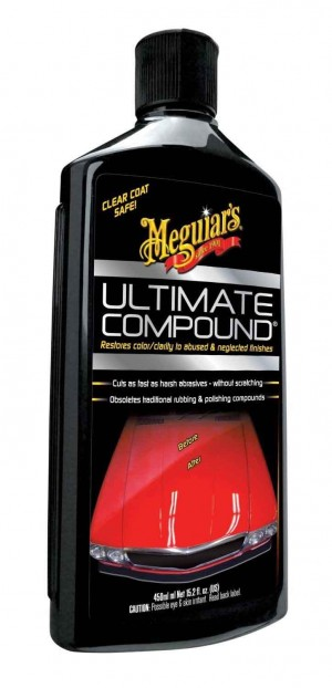 Meguiar's Ultimate Compound 15.2 oz. Polish Fix Scratches Swirls Car Detailing