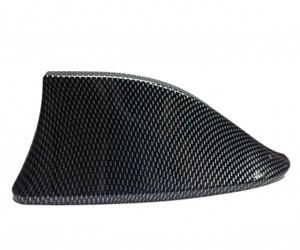 Universal Functional Car Radio Shark Fin Antenna-Carbon Fiber