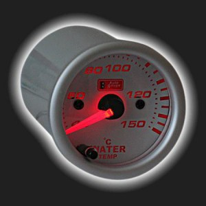 Auto GaugeCoolant Water Temperature 2 inches 7-color backlight.