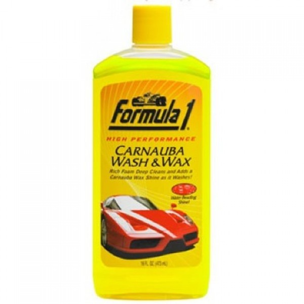 Formula1 Car Carnauba Wash And Wax Car Shampoo 236ML
